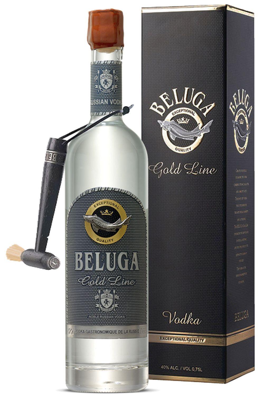 Beluga Gold Line - 40% Vol.  0,70 l - Mariinsk Distillery, Russland