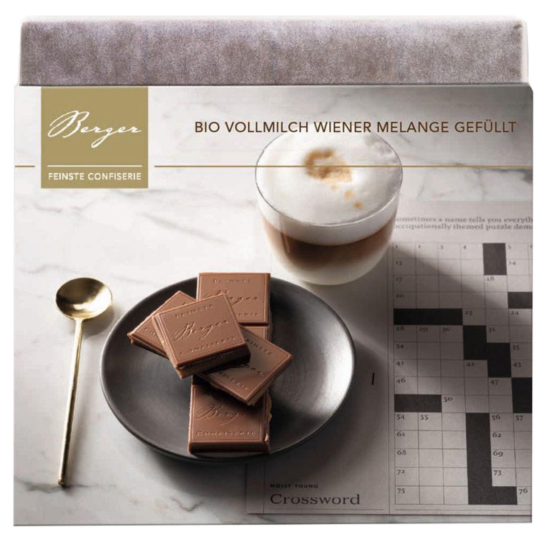 Wiener Melange gefüllt - Vollmilchschokolade 100g - Confiserie Berger