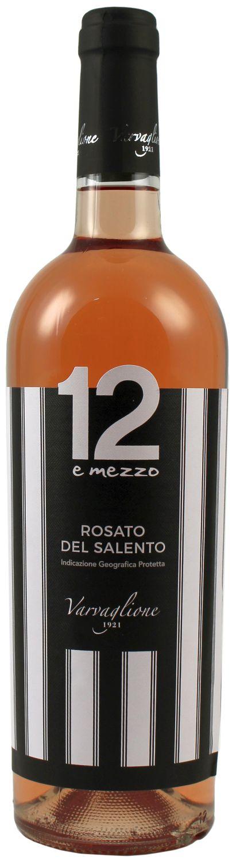 12 e Mezzo - Rose del Salento IGP - Varvaglione, Italien  0,75 l
