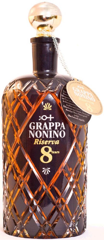 Grappa Nonino Riserva 8 Jahre - Nonino Friaul Percoto/Udine - 43% Vol. 0,70 l