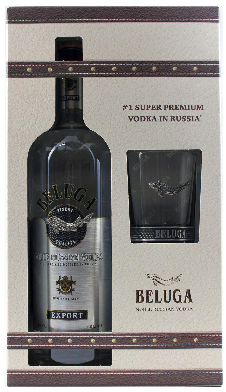 Beluga Vodka - 40% Vol.  1.00 l - Sibirien, Russland