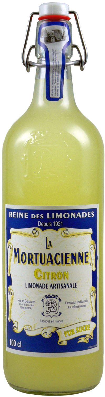 La Mortuacienne - Zitronenlimonade  1,0 l - Rieme Boissons, Frankreich