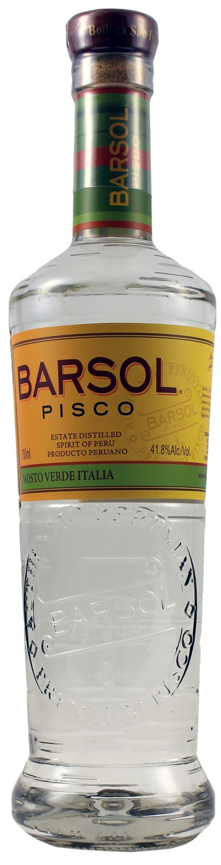 Pisco Barsol - Supremo Mosto Verde Italia - 41,8% Vol.  0,70 l