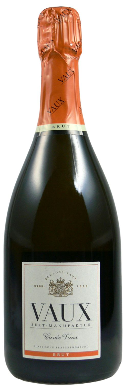 Cuvee Vaux Brut - Klassische Flaschengärung 0,75 l - Schloss Vaux Sekt Manufaktur, Eltville