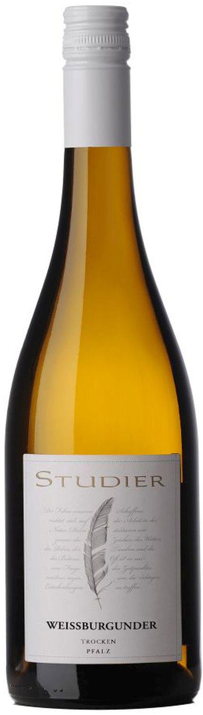 Weißburgunder trocken - Weingut Studier  0,75 l - Ellerstadt in der Pfalz