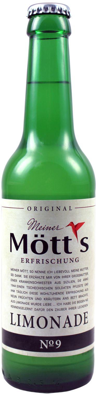 Mötts Limonade No 9 - Leipziger Erfrischungsgetränk - 0,33 l