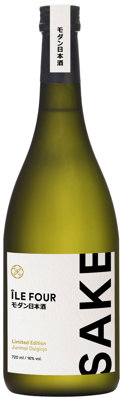 Ile Four Premium Sake - Limited Edition Junmai Daiginjo - 16% Vol.  0,72 l